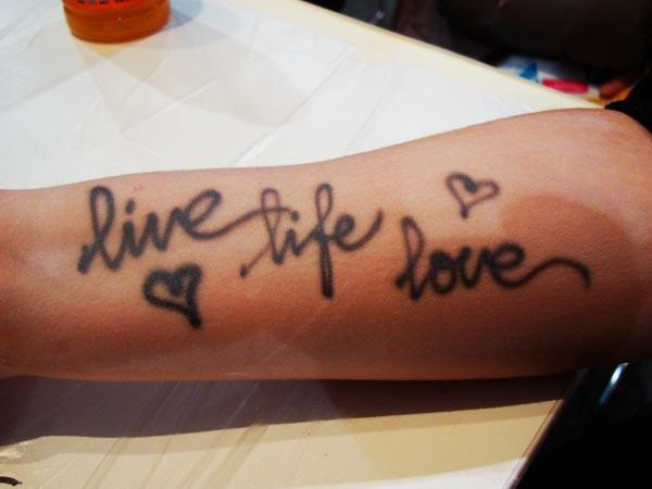 afwasbare-tattoo