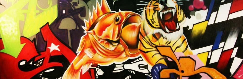 graffiti-artiesten