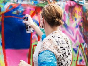 graffiti-bedrijfsuitje