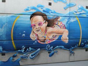 graffiti-schildering-zwembad
