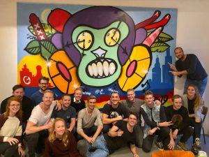 graffiti company event
