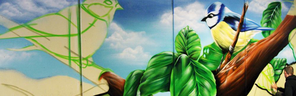 graffiti-aanbrengen